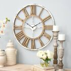 Aspire Home Accents Janelle Farmhouse Wall Clock