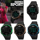 SKMEI LED Digital Wristwatch Men Women Date Day Sport Military Watch Waterproof