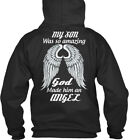Comfortable My Son Was So Amazing An Angel - God Made Standard College Hoodie