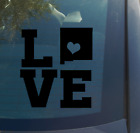 Love New Mexico Vinyl Decal Sticker car window laptop home state heart