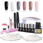 Modelones Set 8Pcs Gel Nail Polish UV Nail Dryer Lamp 6W Top