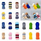 Pet Cat Dog Knitted Jumper Winter Sweater Warm Coat Jacket Puppy Clothes Apparel