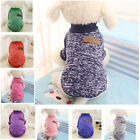 Внешний вид - COMPARE M Medium DARK BLUE Dog Sweaters Pet Jackets Clothes Clothing