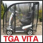 TGA Vita - Vita S X Mobility Scooter Rain Canopy Deluxe Polycarbonate All Window