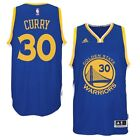 adidas Stephen Curry Golden State Warriors Royal Player Swingman Road Jersey