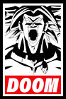 1 Dragon Ball Super Broly Doom Anime The Movie Print Reproduction poster 2019
