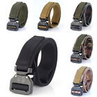 Nylon Belt New Outdoor Quick Release Military Style Tactical Buckle For Unisex