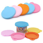 Pet Food Lids Silicone Can Cover Universal BPA Free Storage Tops for Dog Cat Can