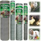 CHICKEN WIRE FENCE ROLL Mesh Garden Poultry Netting Cage Supply Chain Link Fence