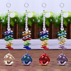 6'' Crystal Ball Suncatcher Window Hanging Rainbow Pendant Home Light Decoration