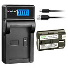 Kastar LCD Charger Battery for Canon BP-511 CG-580 & PowerShot Pro 90 IS ZR20