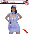 Sexy mile high air hostess Costume Halloween Party Roleplay Hen Nights (SPG0085)