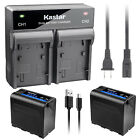 Kastar F980 Battery Rapid Charger for Sony NP-F960 DSR-300 DSR-PD100 DSR-PD150