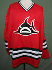 CUSTOM NAME  LOS ANGELES SHARKS WHA HOCKEY JERSEY 1973 LA SEWN NEW ANY SIZE