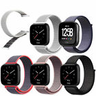 Woven Nylon Replacement  Loop Bracelet Sport Watch Strap Band For Fitbit Versa