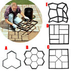 Внешний вид - DIY Plastic Path Maker Pavement Model Concrete Stepping Stone Cement Mould Brick