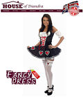 Queen Of Hearts Costume / Outfit, Halloween, Party, Fun, Roleplay, Hen Nights.
