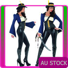 Ladies Deluxe Pirate Costume Buccaneer Beauty Caribbean Wench Swashbuck Penelope