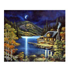 DIY Crystal Diamond Painting Day/Night Pictures Cross Stith Kit Hand Crafts