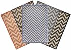 Indoor / Outdoor Rugs Flatweave Contemporary Patio,Pool,Camp and Picnic Carpets
