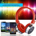 XK-B06 Bluetooth Headset Headphone W/ Glaring Light Support TF Card FM Radio~f