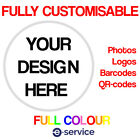 Custom Print Tokens CHOOSE YOUR OWN DESIGN IMAGE LOGO  EVENT SCHOOL BUSINESS
