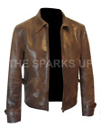 James Bond Skyfall Daniel Craig Vintage Crunch Brown Jacket - BEST PRICE OFFER £84.98 GBP on eBay