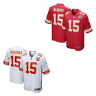 Patrick Mahomes II Men Game Jersey White / Red