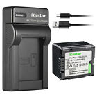 Kastar Battery Slim Charger for Panasonic CGR-DU14 CGA-DU14 CGA-DU06 CGA-DU06