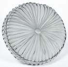 Couture Tufted Pillow Pale Blue Round image