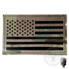 TMC Tactical Patch Infrared Army Morale Patch Large US Flag Military Wargame Trail Markers & Signs - 177889