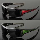 New Men Polarized Sunglasses Sport Wrap Around Black Driving Eyewear Glasses