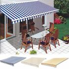 Garden Awning Top Sunshade Canvas Canopy Shelter Fabric Replacement Top Cover US