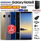 New Unlocked SAMSUNG Galaxy Note 8 N950F Black Blue Grey Gold Android Smartphone