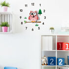 3D DIY Animal Wall Clock for Kids Room Home Decor,Wonderful School Day Gift