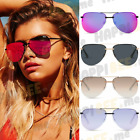 "QUAY AUSTRALIA ""THE PLAYA"" SUNGLASSES MIRROR AVIATOR BLACK PINK JLO ALL COLORS"