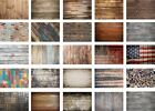 5x3/7x5ft Retro Brown Wood Photography Backgrounds Vinyl Studio Backdrops