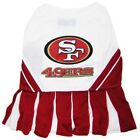 San Francisco 49ers NFL Cheerleader Dog Pet Dress Outfit Sizes XS-M $23.7 USD on eBay