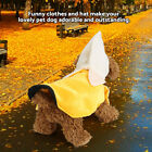 Banana Style Dog Clothes Halloween Puppy Cosplay Suit Outfit Theme Party Costume