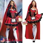Little Red Riding Hood Costume Women Cosplay Adult Halloween