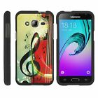 For Samsung Galaxy J3 / Express Prime J320A Hard Fitted 2 Piece Snap On Case