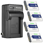 Kastar Battery Wall Charger for Sony NP-BD1 BC-CSD Sony DSC-T200 Digital Camera