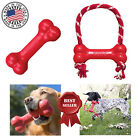 Kong GOODIE BONE Interactive Rubber Fetch Chew Treat Stuff'N Dog Toy MADE IN USA