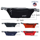 US Women Men Waist Bag Fanny Pack Belt Thin Bag Phone Coin Pouch Sport image
