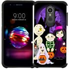 For ZTE Phone Halloween Design Slim Hybrid Armor Case Dual Layer Cover