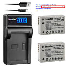 Kastar Battery LCD Charger for Canon NB-10L CB-2LC & Canon PowerShot SX50 HS