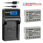 Kastar Battery LCD USB Charger for Canon NB-10L CB-2LC & Canon PowerShot G1 X