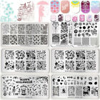 BORN PRETTY Nail Art Image Stamping Plates Halloween Christmas Manicure Template