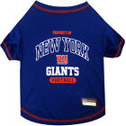 New New York Giants Officially Licensed NFL Dog Pet Tee Shirt, Blue Sizes XS-XL $18.95 USD on eBay