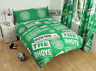 More images of Official Celtic FC Bhoys Patch Double Duvet Cover Bedding Set Football Scotland